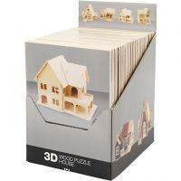 Figura de construcción 3D, 24 ud/ 1 paquete