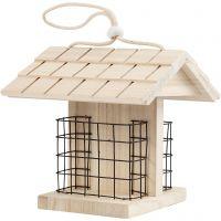 Comedero para pájaro, A: 17.5 cm, L. 11.6 cm, A: 13,5 cm, 1 ud