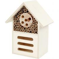Hotel para insectos y mariposas, A: 18 cm, profundidad 9 cm, A: 14 cm, 1 ud