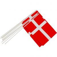 Banderas, medidas 20x25 cm, 10 ud/ 1 paquete