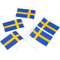Banderas para pasteles, medidas 30x50 mm, 100 ud/ 1 paquete