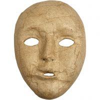 Máscara completa, A: 17,5 cm, A: 12,5 cm, 1 ud