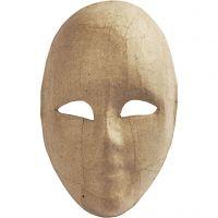 Máscara completa, A: 23 cm, A: 16 cm, 1 ud