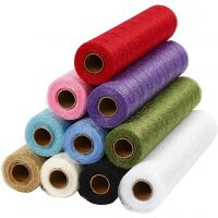 Camino de mesa , A: 30 cm, surtido de colores, 11x10 m/ 1 paquete