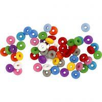 Anillos de cierre, surtido de colores, 48 ud/ 1 paquete