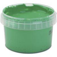 Pintura de dedos PRIMO, verde, 250 ml/ 1 botella