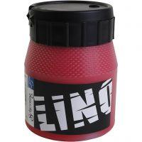 Tinta de impresión, rojo, 250 ml/ 1 botella