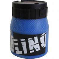 Tinta de impresión, azul, 250 ml/ 1 botella