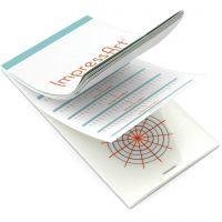 Guía de grabación en relieve, medidas 6,5x13 cm, 1 ud