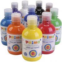 Pintura de textiles, surtido de colores, 10x300 ml/ 1 paquete