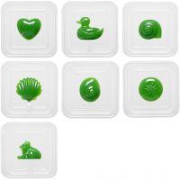 Moldes de plástico, 7 ud/ 1 paquete