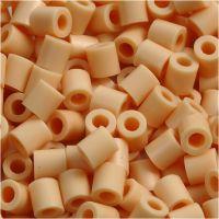 Fuse Beads, medidas 5x5 mm, medida agujero 2,5 mm, medium, polvo claro (32228), 6000 ud/ 1 paquete