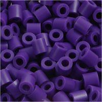 Fuse Beads, medidas 5x5 mm, medida agujero 2,5 mm, medium, violeta oscuro (32234), 1100 ud/ 1 paquete