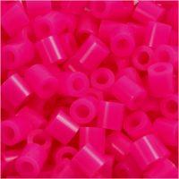 Fuse Beads, medidas 5x5 mm, medida agujero 2,5 mm, medium, cereza (32258), 6000 ud/ 1 paquete