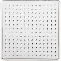 Base con clavijas, cuadrado pequeño, medidas 7x7 cm, 10 ud/ 1 paquete