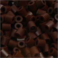 PhotoPearls, medidas 5x5 mm, medida agujero 2,5 mm, marrón (3), 6000 ud/ 1 paquete