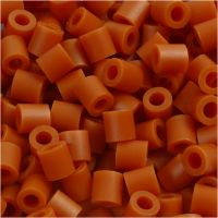 PhotoPearls, medidas 5x5 mm, medida agujero 2,5 mm, rojo marron (5), 1100 ud/ 1 paquete