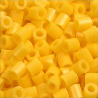 PhotoPearls, medidas 5x5 mm, medida agujero 2,5 mm, amarillo (14), 6000 ud/ 1 paquete