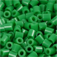 PhotoPearls, medidas 5x5 mm, medida agujero 2,5 mm, verde (16), 1100 ud/ 1 paquete