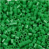 PhotoPearls, medidas 5x5 mm, medida agujero 2,5 mm, verde (16), 6000 ud/ 1 paquete