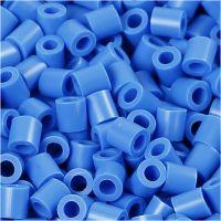 PhotoPearls, medidas 5x5 mm, medida agujero 2,5 mm, azul (17), 1100 ud/ 1 paquete