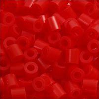 PhotoPearls, medidas 5x5 mm, medida agujero 2,5 mm, rojo claro (19), 1100 ud/ 1 paquete