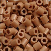 PhotoPearls, medidas 5x5 mm, medida agujero 2,5 mm, marrón claro (20), 6000 ud/ 1 paquete