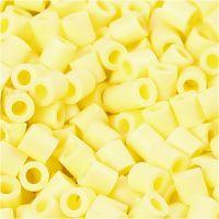 PhotoPearls, medidas 5x5 mm, medida agujero 2,5 mm, amarillo claro (21), 1100 ud/ 1 paquete