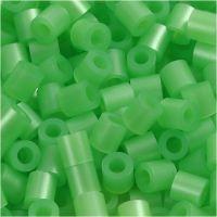 PhotoPearls, medidas 5x5 mm, medida agujero 2,5 mm, verde perla (22), 6000 ud/ 1 paquete