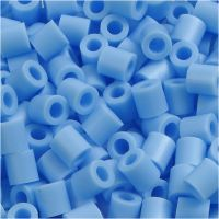 PhotoPearls, medidas 5x5 mm, medida agujero 2,5 mm, azul pastel (23), 6000 ud/ 1 paquete