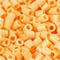 PhotoPearls, medidas 5x5 mm, medida agujero 2,5 mm, naranja claro (26), 1100 ud/ 1 paquete