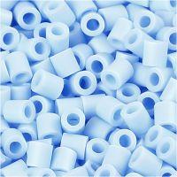 PhotoPearls, medidas 5x5 mm, medida agujero 2,5 mm, azul claro (28), 1100 ud/ 1 paquete