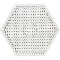 Placa, medidas 15x15 cm, transparente, 1 ud