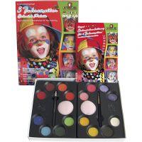 Set de maquilaje con paso a paso, surtido de colores, 1 set