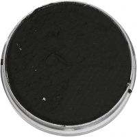 Pintura facial a base de agua, negro, 3,5 ml/ 1 paquete
