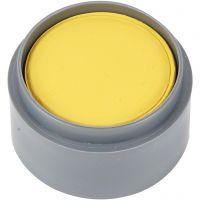 pintura facial en base a agua, amarillo, 15 ml/ 1 bote