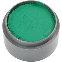 pintura facial en base a agua, verde, 15 ml/ 1 bote