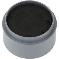 pintura facial en base a agua, negro, 15 ml/ 1 bote