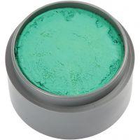 pintura facial en base a agua, verde mar, 15 ml/ 1 bote