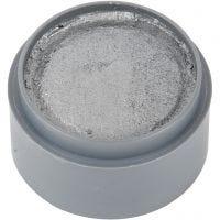 pintura facial en base a agua, plata, 15 ml/ 1 bote