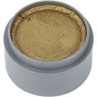 pintura facial en base a agua, dorado, 15 ml/ 1 bote