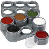 Paleta de pintura facial a base de agua, 6x15 ml/ 1 ud
