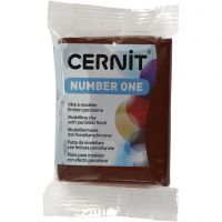 Cernit, marrón (800), 56 gr/ 1 paquete