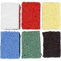 Soft Foam, colores estándar, 6x10 gr/ 1 paquete