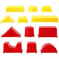 Moldes para arena, geométrico, medidas 3,5-9,5 cm, 12 ud/ 1 paquete