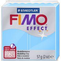 FIMO effect, azul neón, 57 gr/ 1 paquete