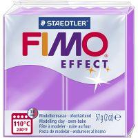 FIMO effect, violeta neón, 57 gr/ 1 paquete