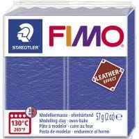 FIMO® Leather Effect, indigo (309), 57 gr/ 1 paquete