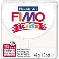 Pasta de modelar FIMO® Kids , blanco, 42 gr/ 1 paquete