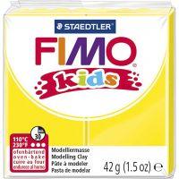 Pasta de modelar FIMO® Kids , amarillo, 42 gr/ 1 paquete